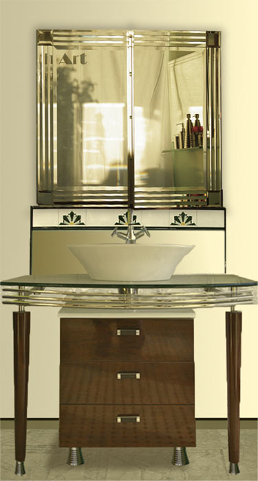 The Manhattan Mirror Co Melbourne Sydney Is Australias Largest Manufacturer Of Custom Cut Feature Designer Bathroom Mirrors In Modern Or Art Deco Style