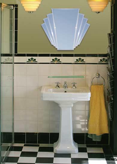 Bathroom art deco tiles 2017 2018 best cars reviews for Art deco tile designs bathroom